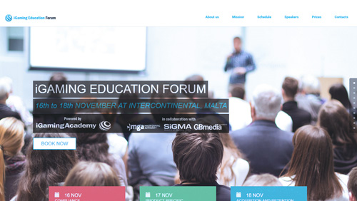 Official site launch of the first iGaming Education Forum to be held in Malta