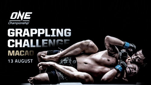 ONE Grappling Challenge Macao Set for 13 August at the Venetian Macao