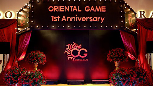 Oriental Game's Anniversary Event a Celebration of Success