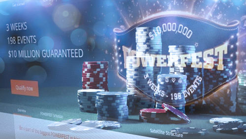 Partypoker Launch Powerfest Schedule and Multi-Tabling Mobile App