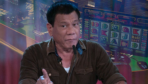 Philippine President sets conditions for gaming cafe