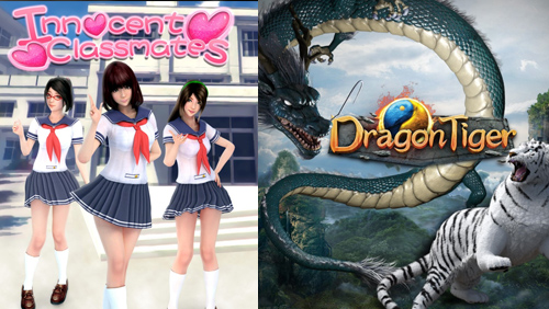 SAGaming unveils two slot games: Dragon & Tiger and Innocent Classmates