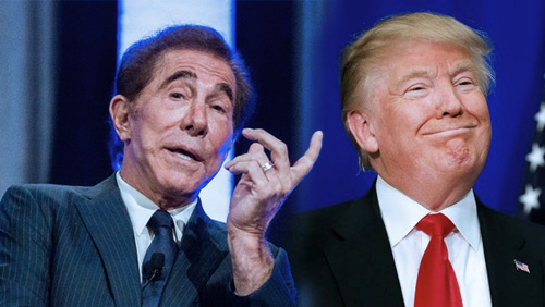 Steve Wynn holds back support for Donald Trump