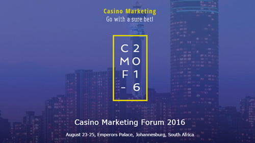The Casino Marketing Forum 2016 - Go with a sure bet!