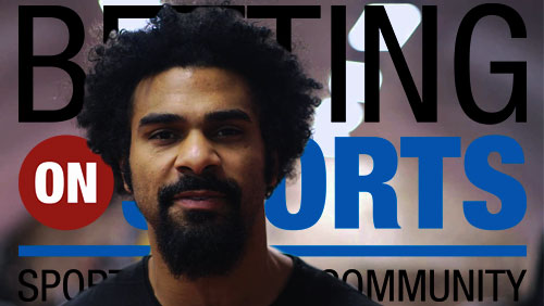 The Hayemaker signs up for Betting on Sports 2016