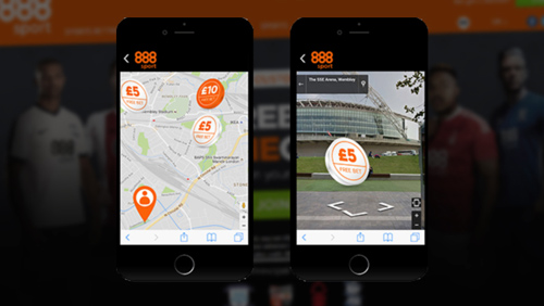 888Sport Use Pokemon Go Augmented Reality Technology with Free Bet Hunt