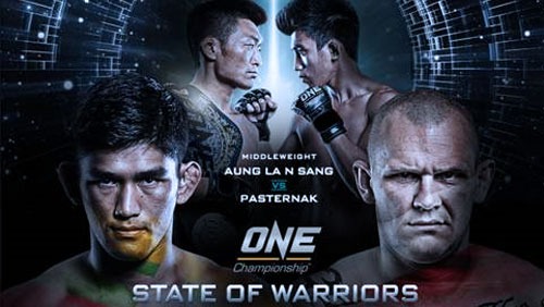 Aung La N Sang Takes On Michal Pasternak At ONE: State Of Warriors