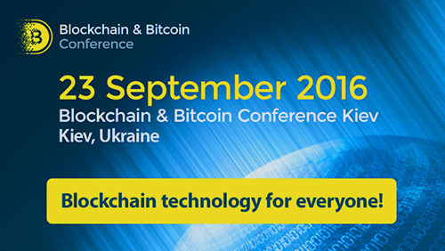Blockchain & Bitcoin Conference Kiev: Blockchain Technology in Government Control and Fintech