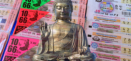Buddhist monk achieves enlightenment by winning Thai lottery