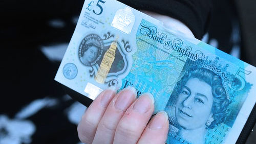 E-Service respond to the challenges presented by new £5 polymer note