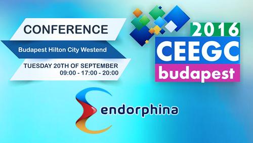 Endorphina @ CEEGC 2016 Budapest