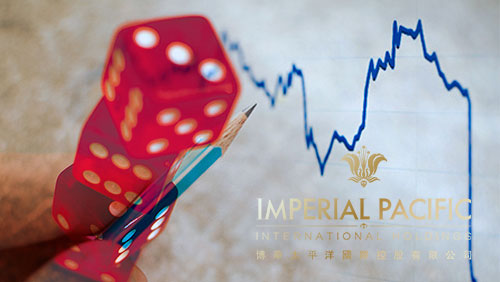 Imperial Pacific notches second lowest rolling chip in August