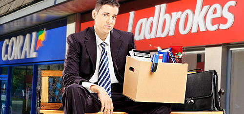 Ladbrokes-Coral shedding up to 700 jobs ahead of merger