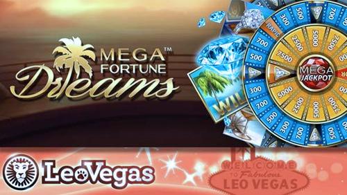 LeoVegas Winners Net Mega Fortune