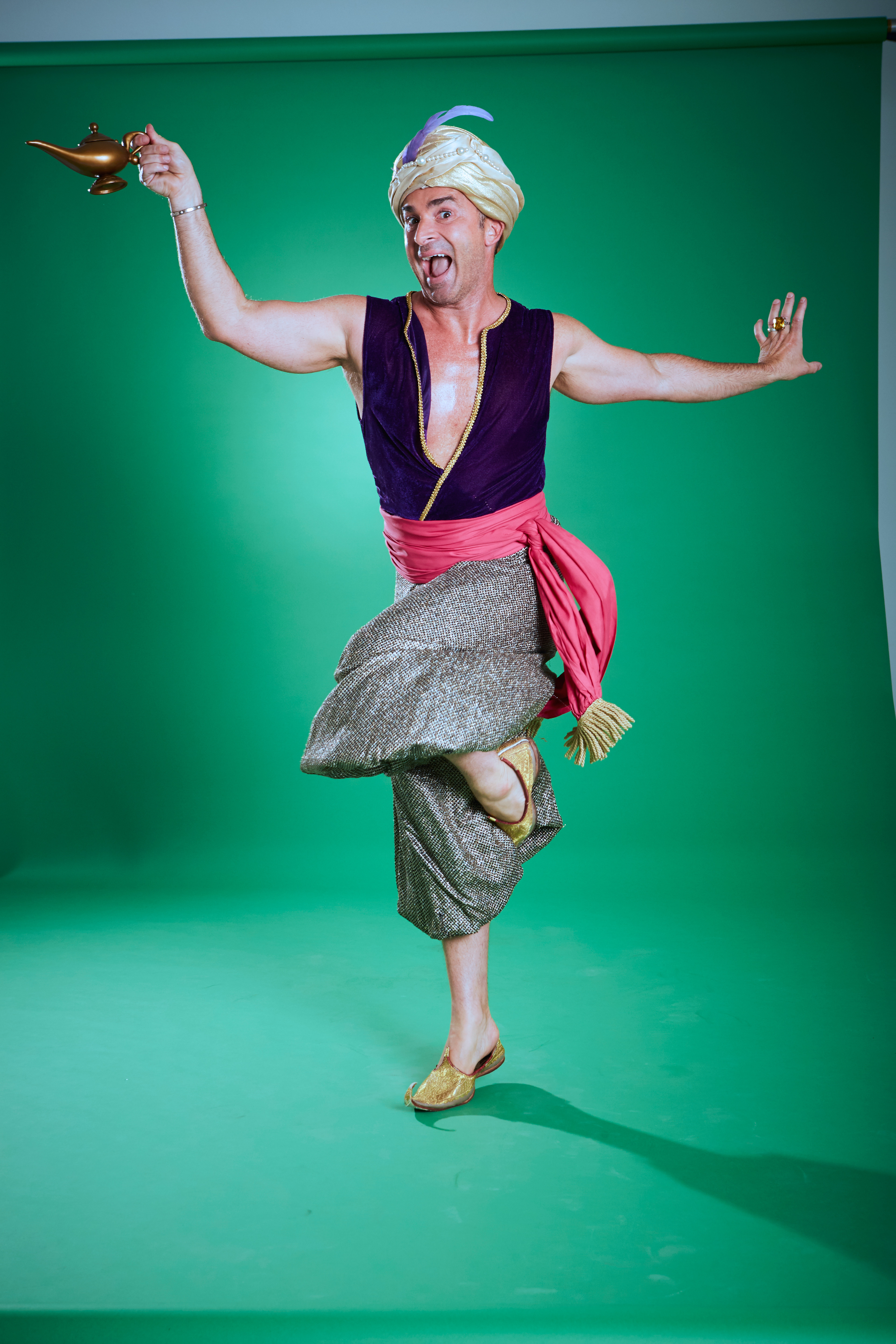 Louie Spence is new face of Spin Genie