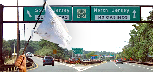North Jersey casino backers hoist white flag after dismal polls