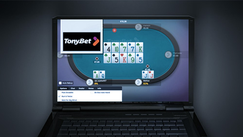 TonyBet Announce Run It Twice Tournaments & Help Make NYX Gaming Become The First Major Casino Provider in Lithuania