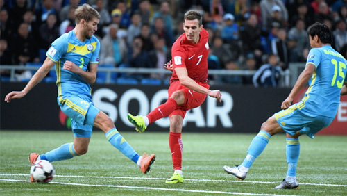 World Cup Round-Up: Poland Draw With Kazakhstan; Favourites Germany Win in Norway, and More