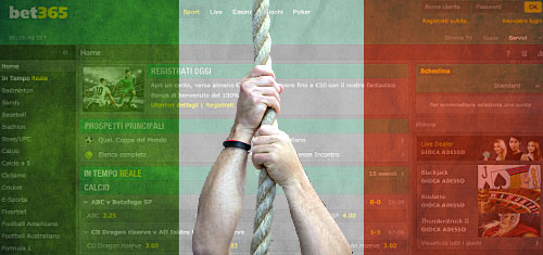Bet365 loosens grip on Italy's online sports betting market