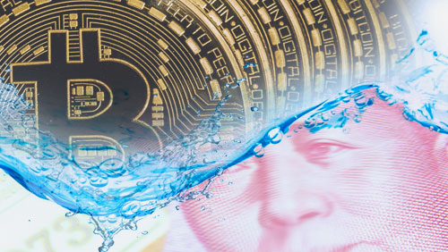 Bitcoin price sails as China's yuan sinks