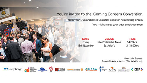 Careers Convention for SiGMA and MALTA GAMING WEEK