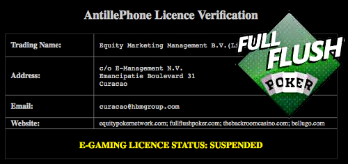 full-flush-poker-offline-license-suspended
