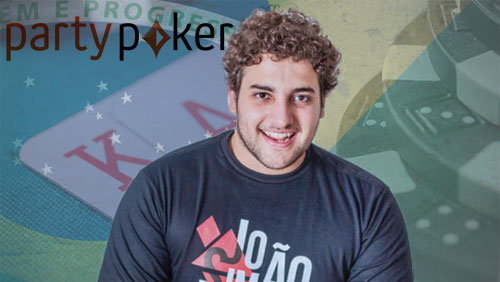 Joao Simao is the New Face of partypoker in Brazil