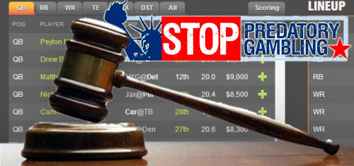 New York daily fantasy sports legislation faces constitutional challenge