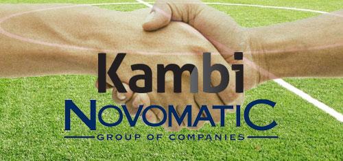Novomatic, Kambi team on omni-channel sports betting lottery technology