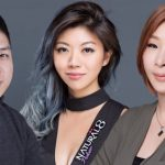Online Poker Room Natural8 Sign Kitty Kuo, Xuan Liu & Dong Kim