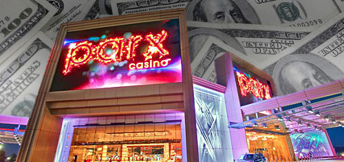 Parx top Pennsylvania casino, Hollywood Casino playing without a full deck