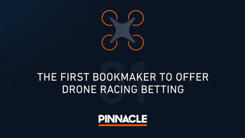 Pinnacle first to offer betting on Drone Racing