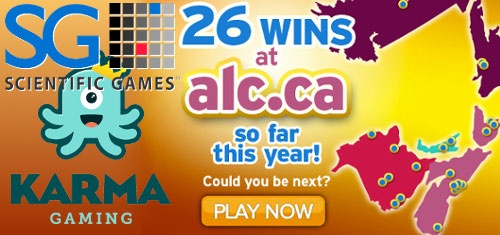 Sci-Games acquire Karma Gaming portfolio; Atlantic Lottery preps new iLottery