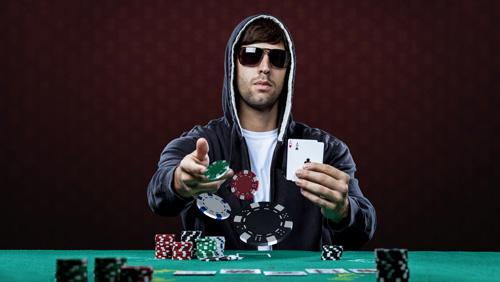 The stoic way of dealing with speech play in poker