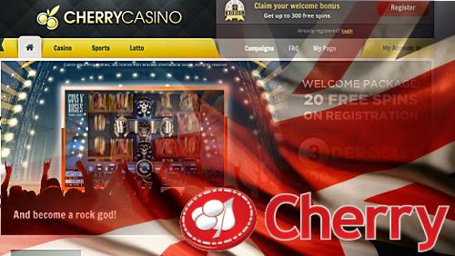 Cherry celebrates UK license, revenue spike