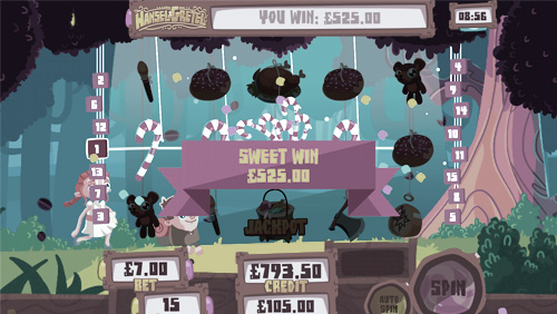 mFortune launch Reel-less Hansel & Gretel Slots game1