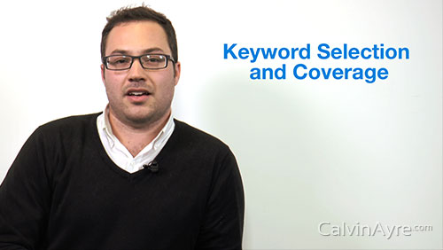 PPC Tip of the Week: Keyword selection and coverage