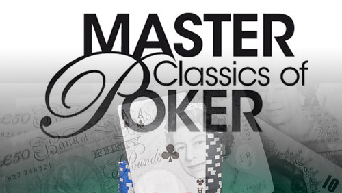 Masters Classics of Poker: Hakim Zoufri & Noah Boeken take the big prizes; Charlie Carrel excels