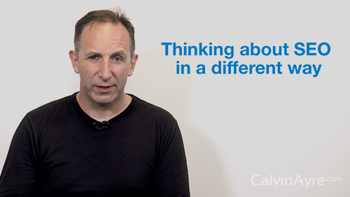 SEO Tip of the Week: Thinking about SEO in a different way