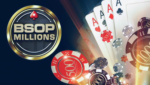 PokerStars sponsored BSOP Millions ready to rock n roll