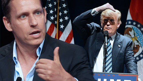 Trump adds bitcoin enthusiast Peter Thiel to transition team