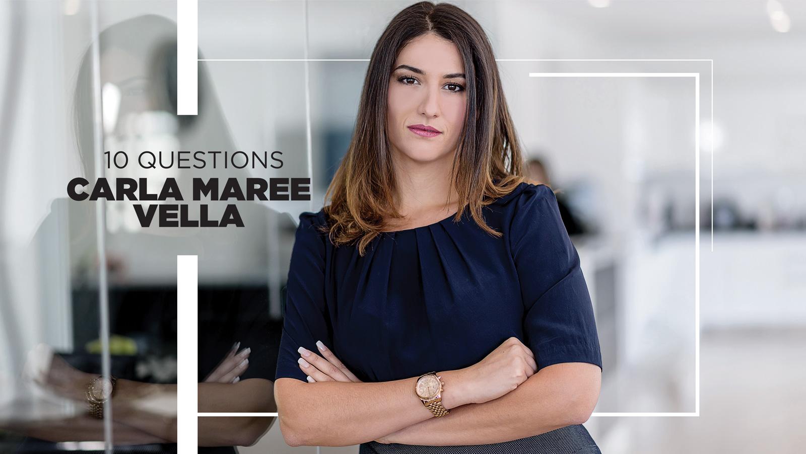 10 Questions - Carla Maree Vella