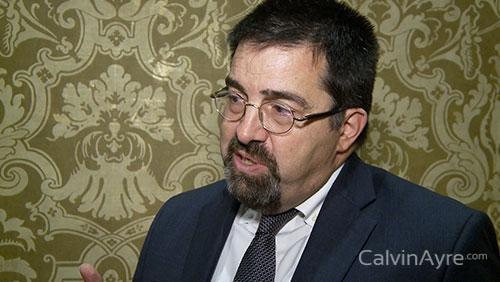 Anthony Cabot on Macau's gaming revenue