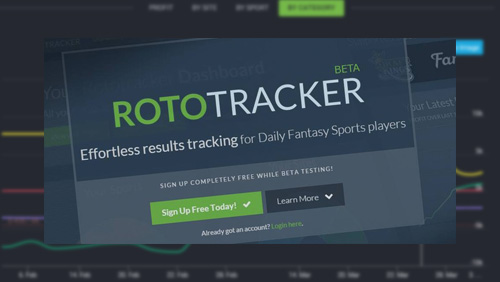Bankroll tracking tool for daily fantasy sports players, RotoTracker, now supports FantasyDraft