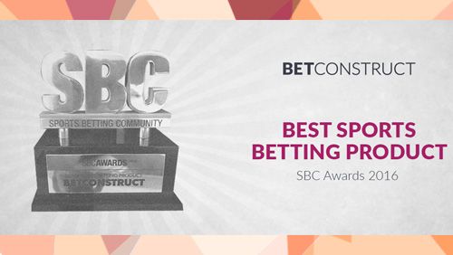 BetConstruct wins at SBC Awards 2016