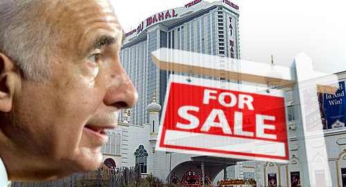 Report: Icahn in talks to sell Trump Taj Mahal