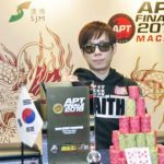 Korea's SJ Kim wins the APT Finale Macau Main Event!