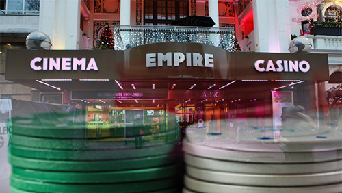 Poker player strikes lucky at Leicester Squares Empire Casino