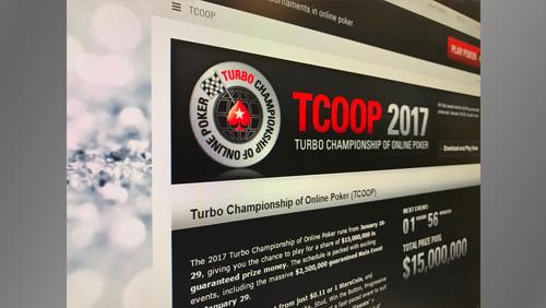 $15 MILLION GUARANTEED TURBO CHAMPIONSHIP OF ONLINE POKER KICKS OFF TODAY AT POKERSTARS