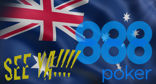 888Poker bid g'bye to Australia